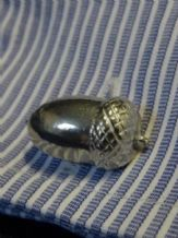 Acorn Pewter Cufflinks